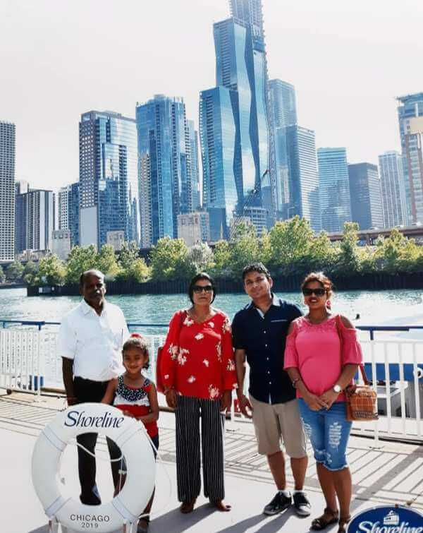 Travelling in Chicago, USA