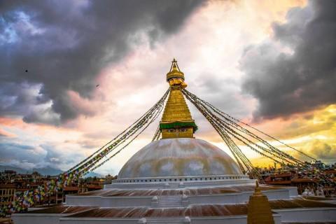 Boudhanath Stupa Nepal - Pilgrimage Places to Visit Kathmandu Image