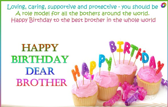 Cute Happy Birthday Quotes Wishes For Brother
