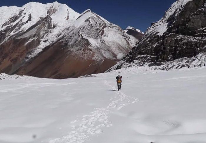 Mountain Dhaulagiri Himalayas Nepal