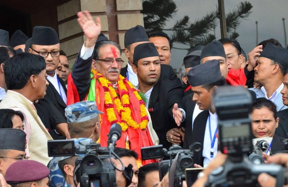 Prime Minister of Nepal Puspa Kamal dahal Prachanda