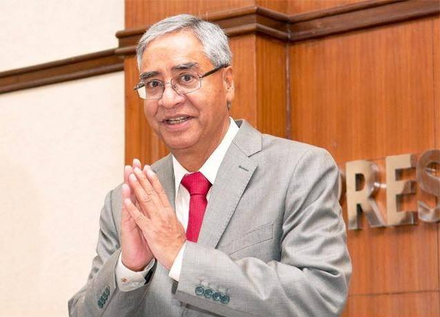 Sher Bahadur deuba- former Prime Minister of Nepal