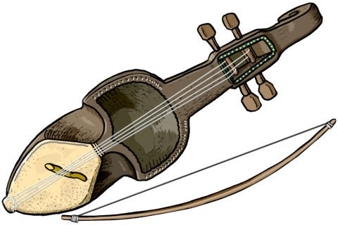 sarangi Nepali musical instrument