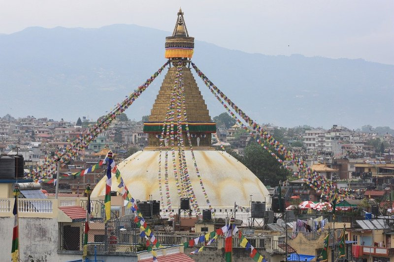 When was Bouddhanath Stupa Built?