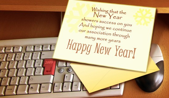 Happy New Year 2077 Message and Quotes for Business Partners