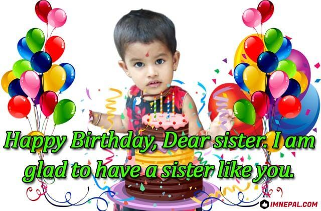 150 Happy Birthday SMS, Wishes, Messages, Quotes, Images, Greeting Cards, Wallpapers Collection for Your Lovely Sister in English