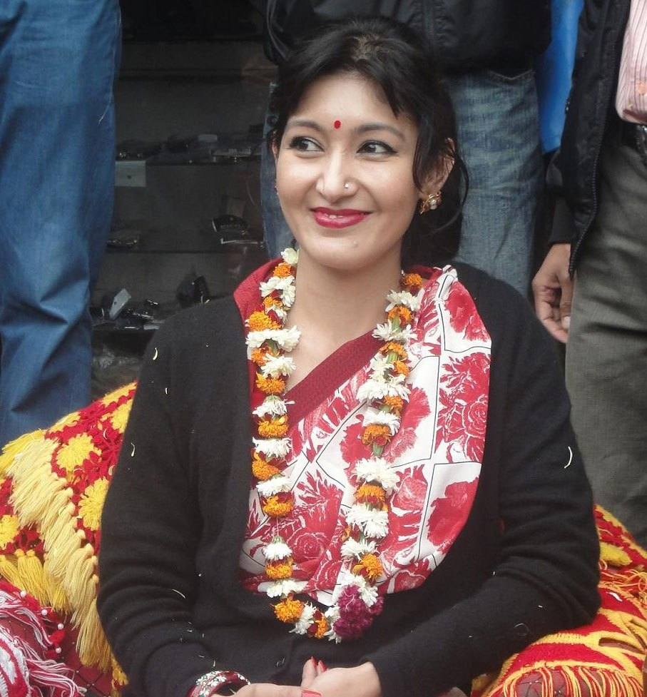 Himani Shah - Nepali Girl Lady Image