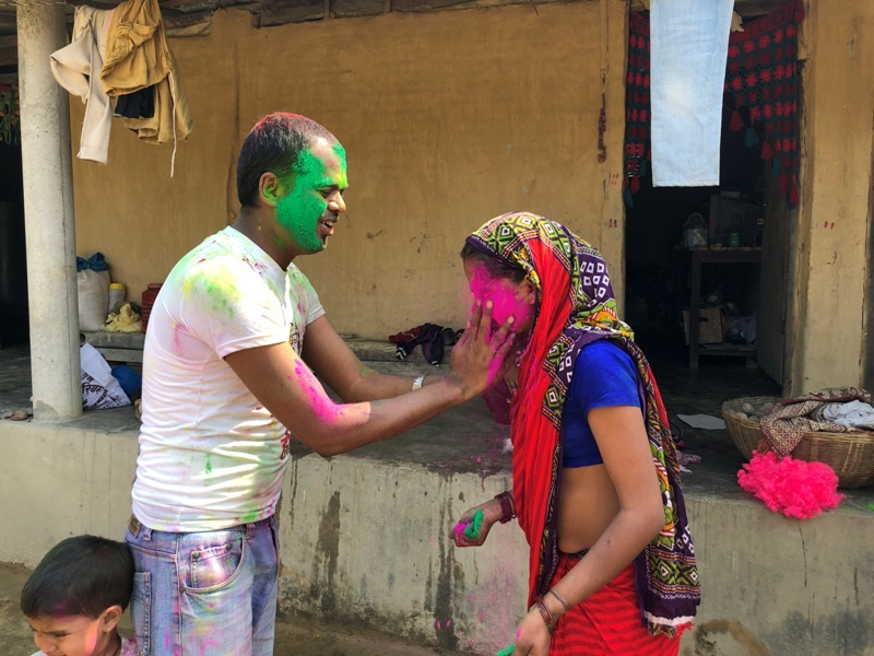 Happy Holi Festival Colors Image celebration