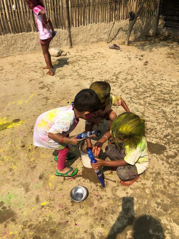 Happy Holi Festival Colors Image celebration