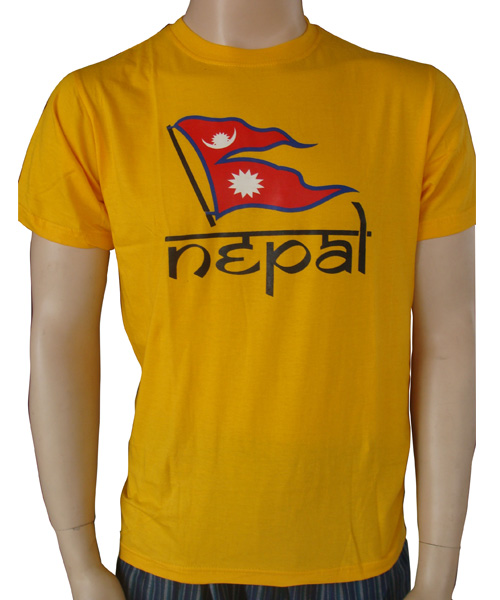 Nepal printed t-shirt