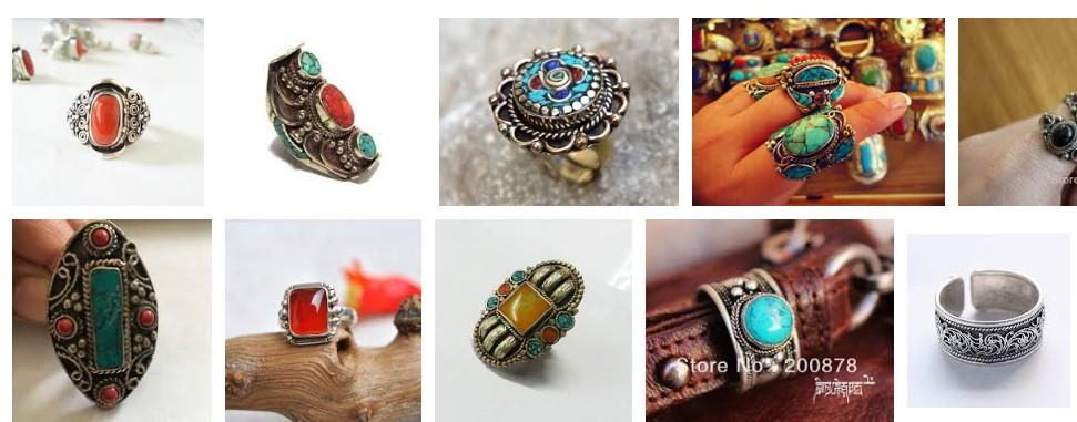 Nepalese hand rings