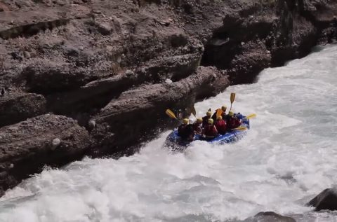 Upper Seti River kayaking rafting in Nepal
