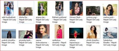 beautiful Nepalese girls