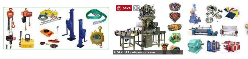 machinery items