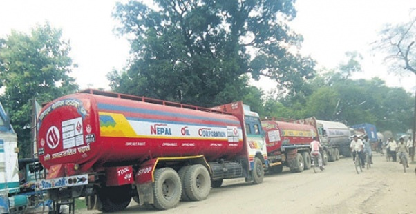 oil tanker in madhesh terai nepal