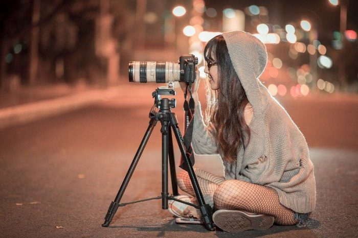 photo shoot camera photography girl Fun Things To Do on New Year's Eve Under 21