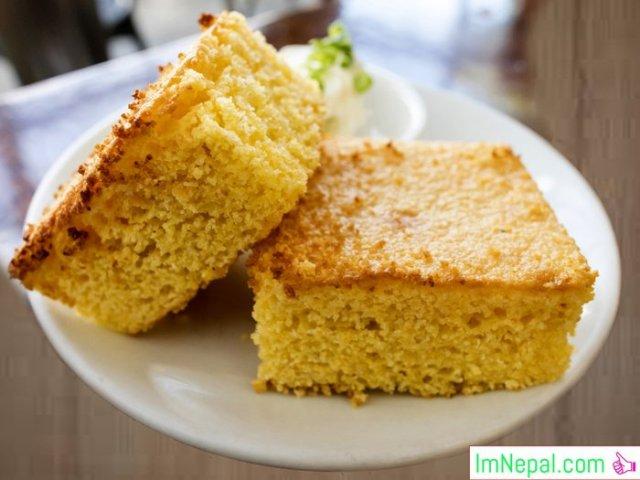 Corn Bread foods eat dish recipes