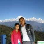 Husband wife Couples at Visiting Nepal