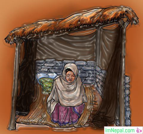 How Nepalese Women Banished to Huts to Have Their Menstrual Periods in Some Regions of Nepal