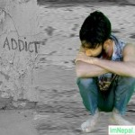 drug addicted boy