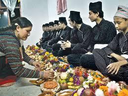 maha puja - Newari culture in Nepal