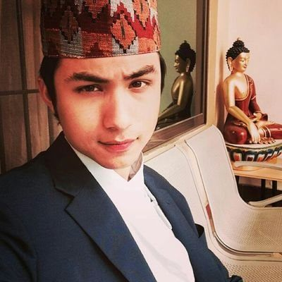 Nepali film actor Anmol KC Picture