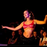 Priyanka karki dancing in a stage