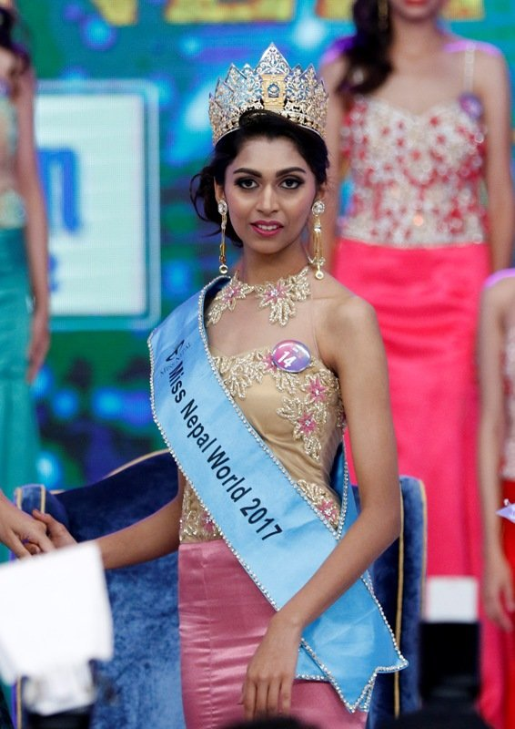 Miss Nepal 2017 World: Nikita Chandak