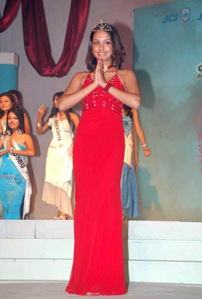 priyanka karki crowned miss teen 2005