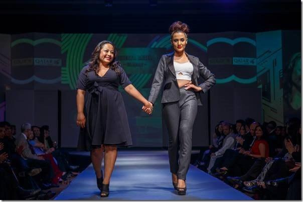 priyanka karki in fashion show