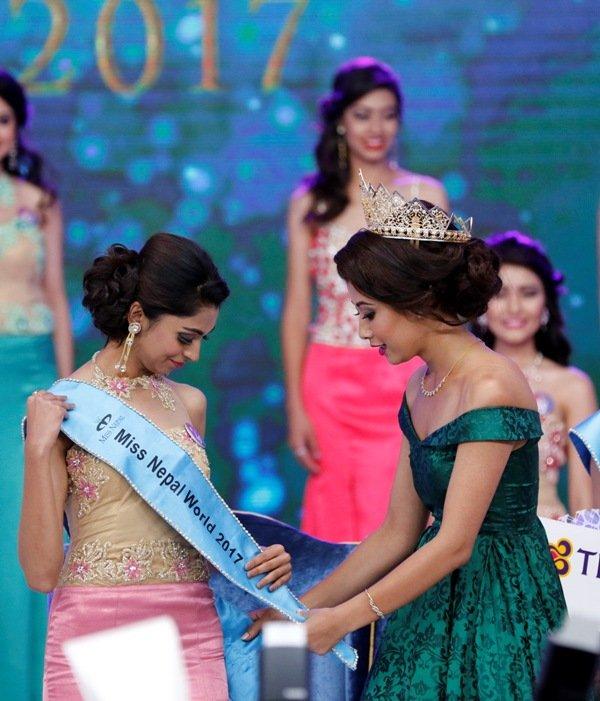 Miss Nepal 2017 World: Nikita Chandak