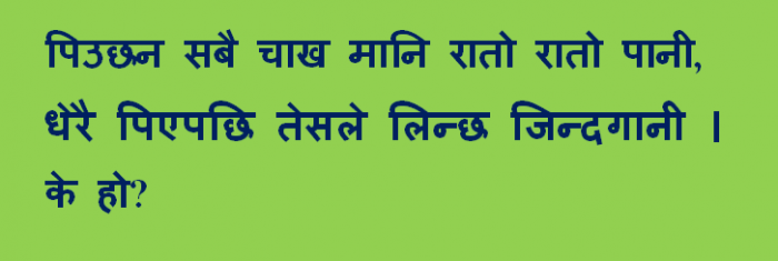 Gau Khane Katha Nepalese Picture