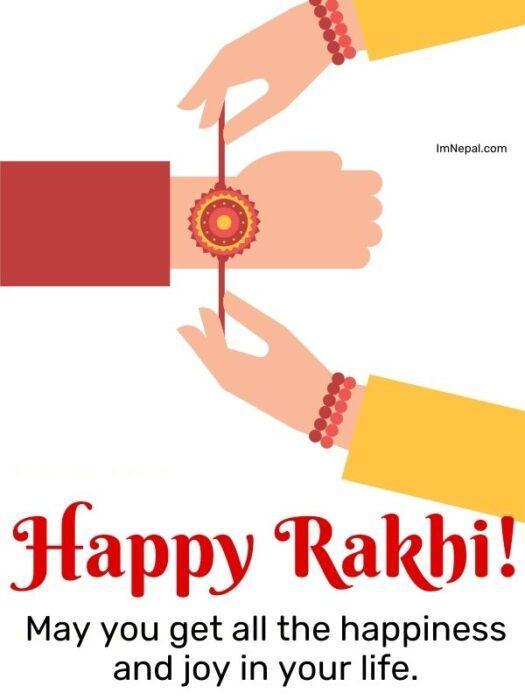 Happy Rakhi wishes image