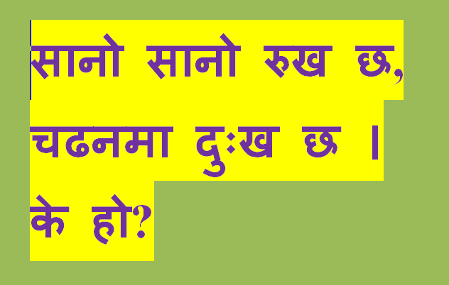 riddle Images Nepali