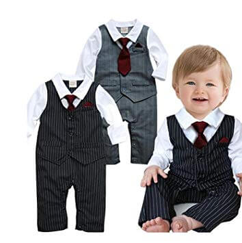 Black Party Wear Shirt, Waistcoat with Pants baby boy dress