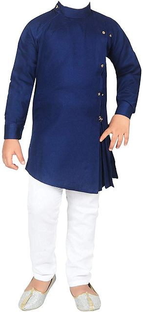 Cotton Kurta and Pyjama Set Teenagers Boys Dress