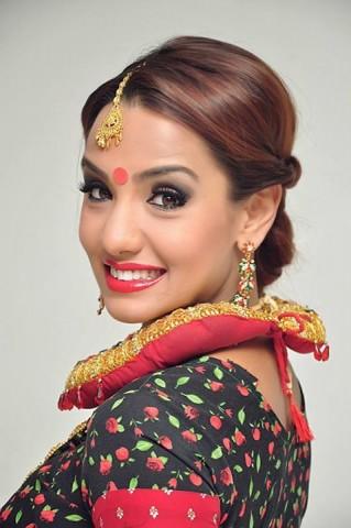 Nepali actress model Priyanka Karki beautiful wonderful cute kathmandu kollywood smiling pictures images photos 7