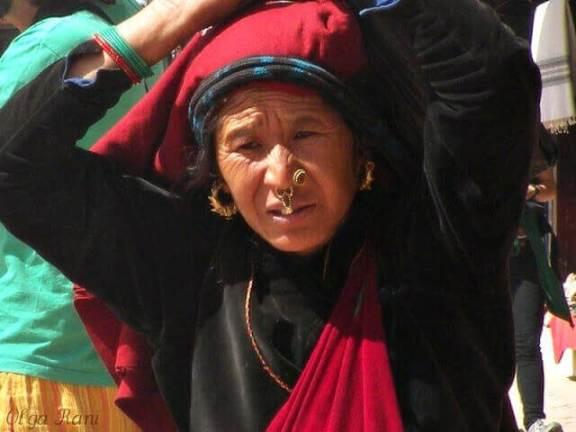 Phuli ornament Nepali woman
