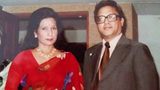 Rajesh Hamal's Mother & Father