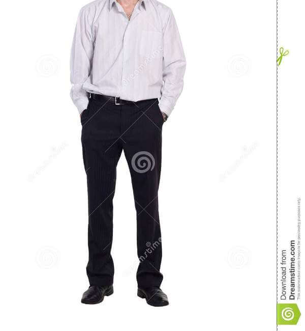 Shirt with Formal Trouser Men Dress