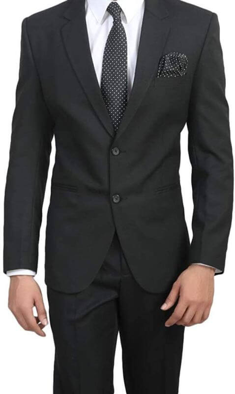 Slim Fit Formal Blazer Men Dress