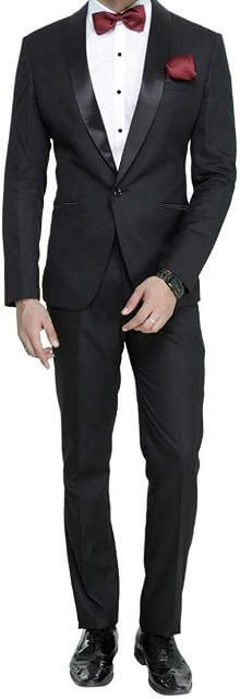 Slim Fit Tuxedo Suit man dress