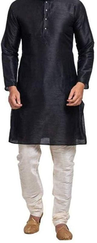 Solid Straight Kurta Men Dress