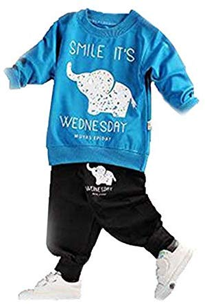 Two Piece Set Full Length Set Tshirt Pant set baby boy dress