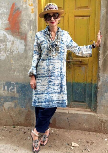 boho dress matured woman