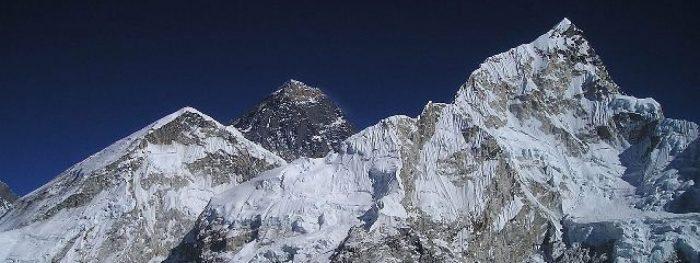 cropped Nepal Himalayas Mountain Everest Image