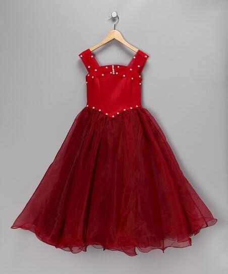 princess cut dress girls