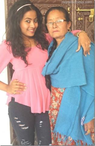 Rajani K.C. & Her Mother