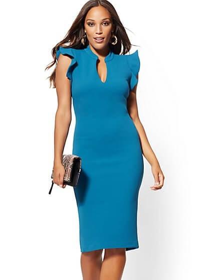 sheath dress ladies
