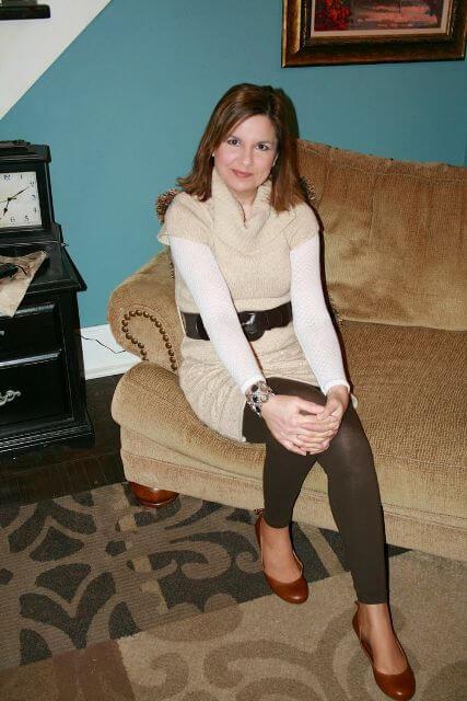 sweater dress woman